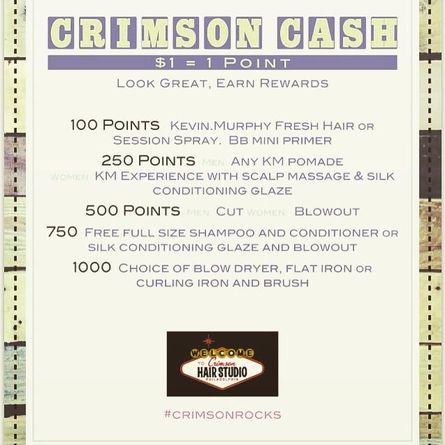 crimson rewards program