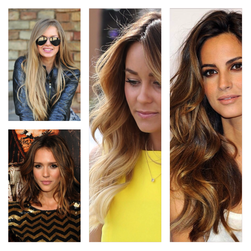highlights vs balayage