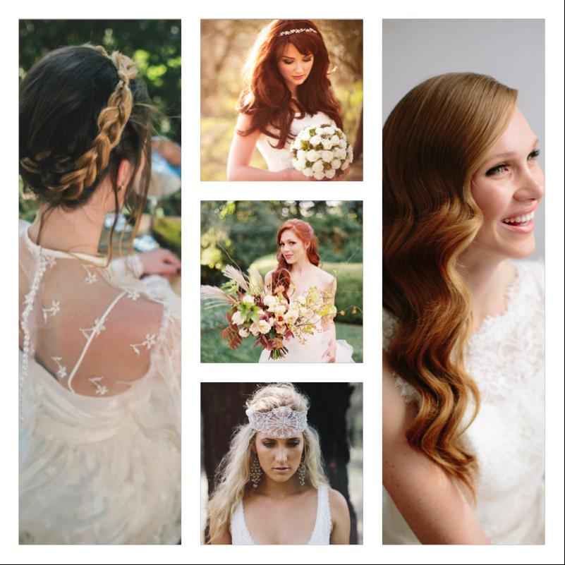 Crimson Wedding Inspirations Fall 2015