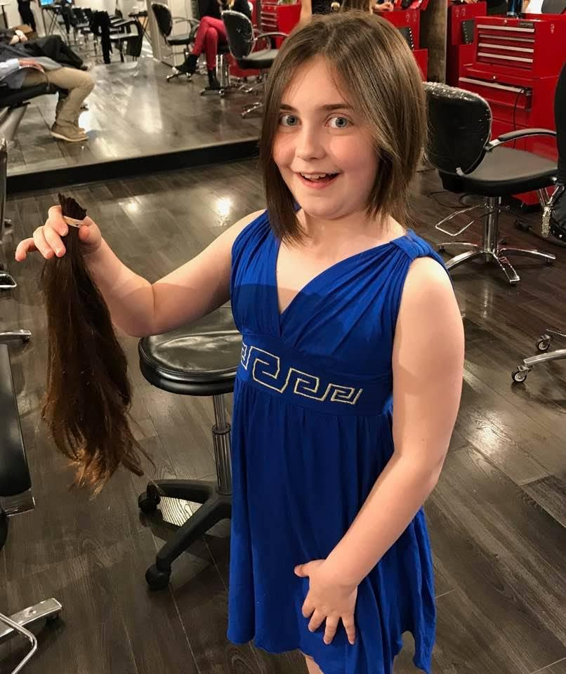 Locks Of Love at Crimson Hair Studio: Caroline