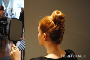 The Triangle: DIY Holiday Hair