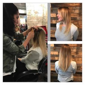 Extension Options at Crimson Hair Studio