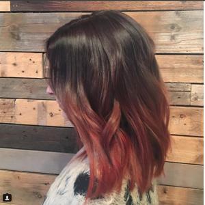 Becky's Client - Philadelphia, PA - Crimson Hair Studio