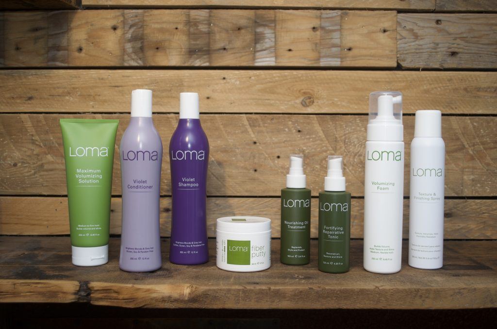 loma organic hair care at crimson